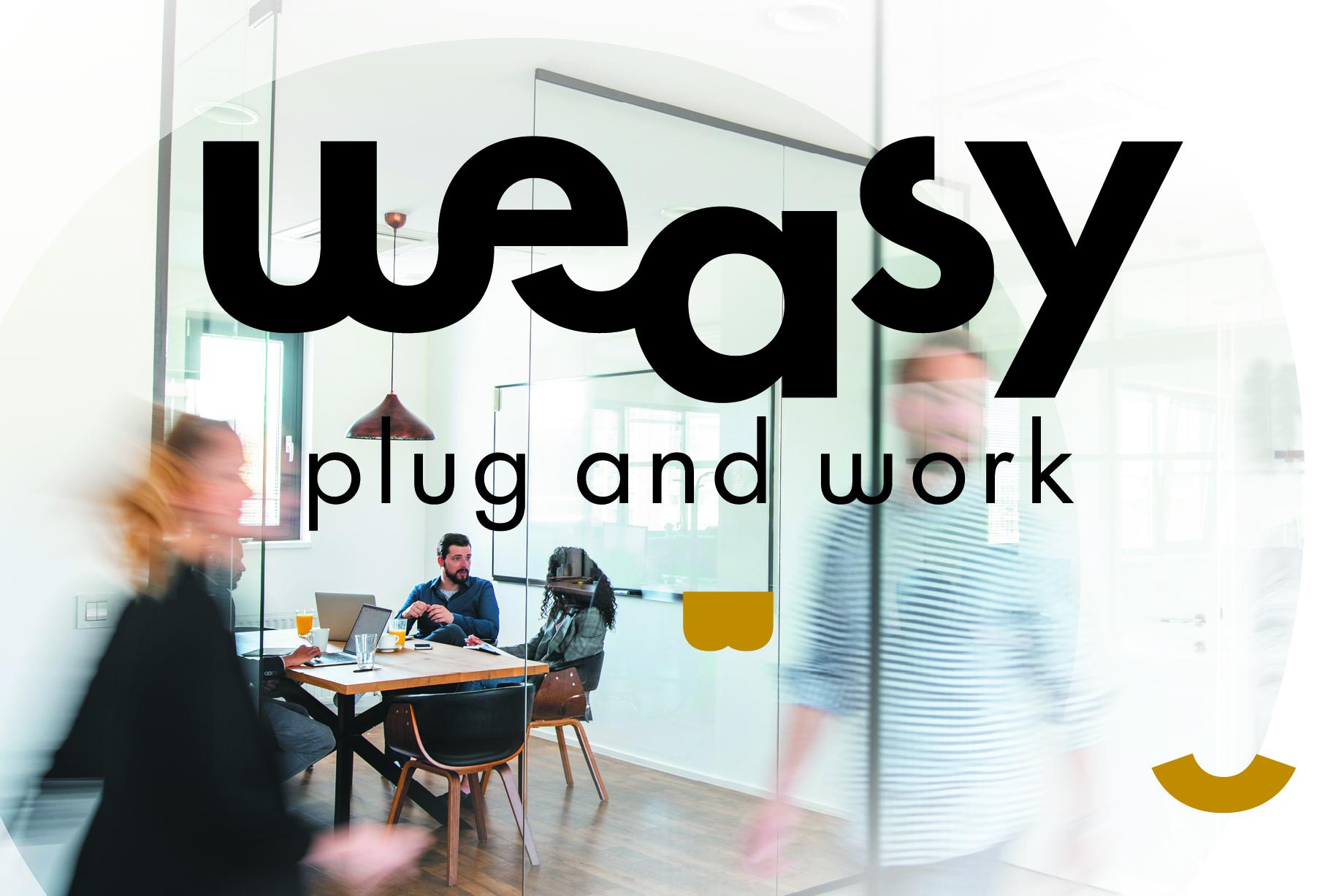 Weasy plug and work espace de travail partage